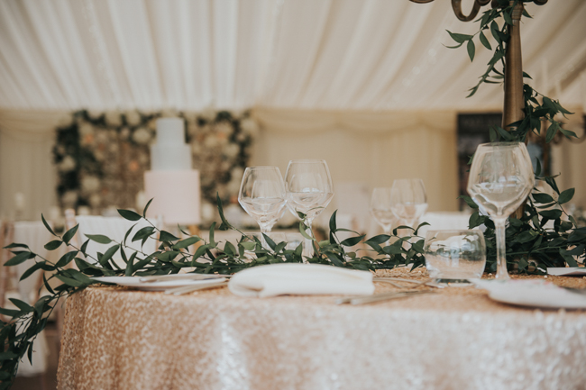 Bluebells and elegant Derbyshire wedding styling ideas and suppliers, image credit Rosie Kelly Photography (10)