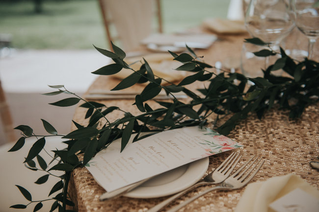 Bluebells and elegant Derbyshire wedding styling ideas and suppliers, image credit Rosie Kelly Photography (12)