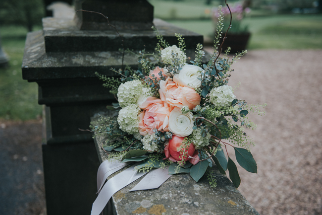 Bluebells and elegant Derbyshire wedding styling ideas and suppliers, image credit Rosie Kelly Photography (13)