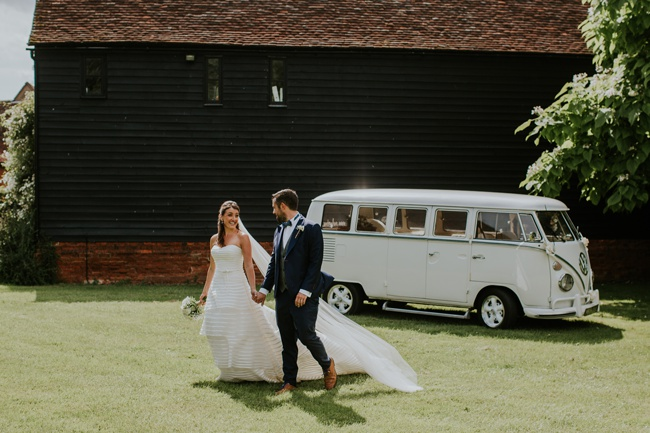 Campervan, balloons, dickie bows and elegance for an English summer wedding, with Craig Williams Photography (24)