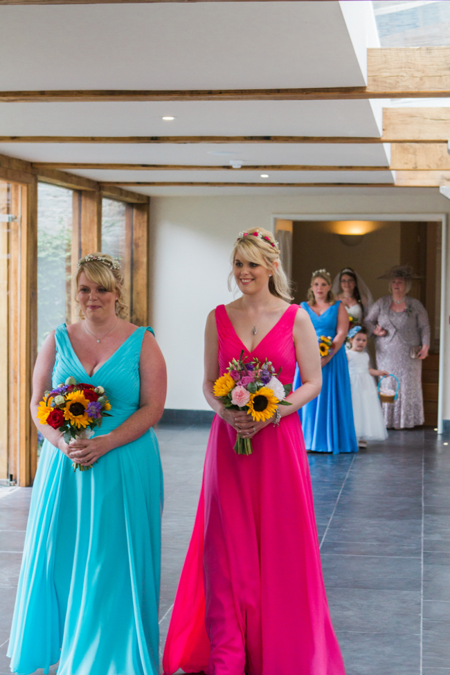 Sunflowers and colourful summer styling for a Lemore House wedding with Amanda karen Photography (11)
