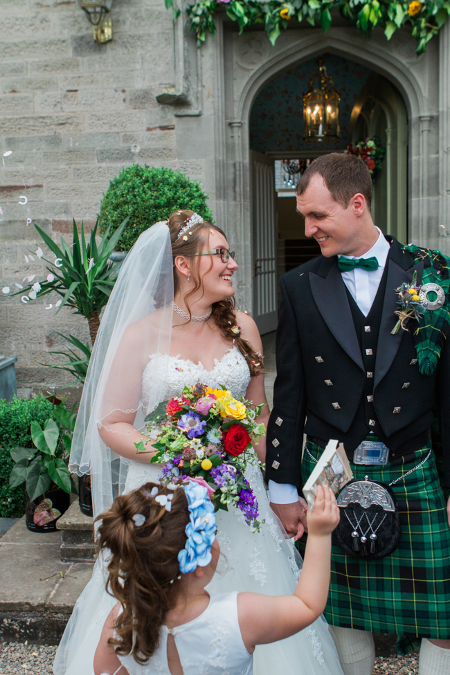 Sunflowers and colourful summer styling for a Lemore House wedding with Amanda karen Photography (22)