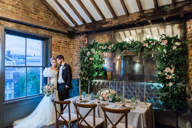 Chic modern wedding styling in London, images by Amanda Karen Photography (20)