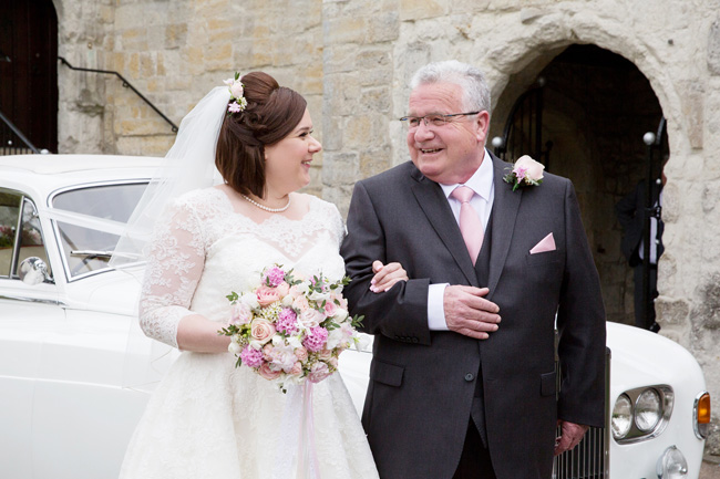 An intimate wedding at Kent's Archbishop's Palace, with Helen England Photography (5)