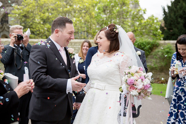 An intimate wedding at Kent's Archbishop's Palace, with Helen England Photography (9)