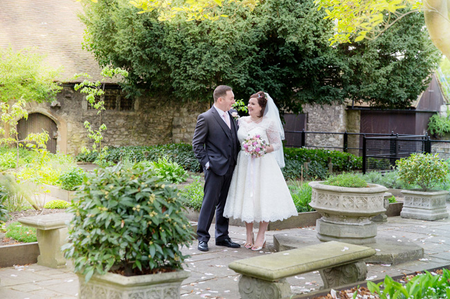 An intimate wedding at Kent's Archbishop's Palace, with Helen England Photography (11)