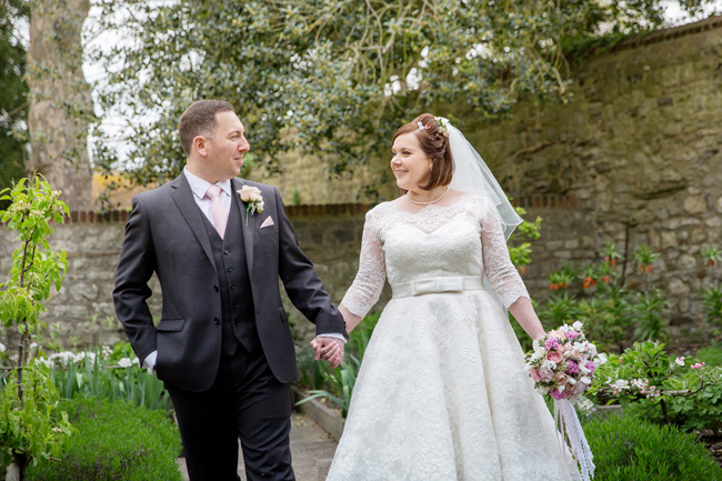 An intimate wedding at Kent's Archbishop's Palace, with Helen England Photography (12)