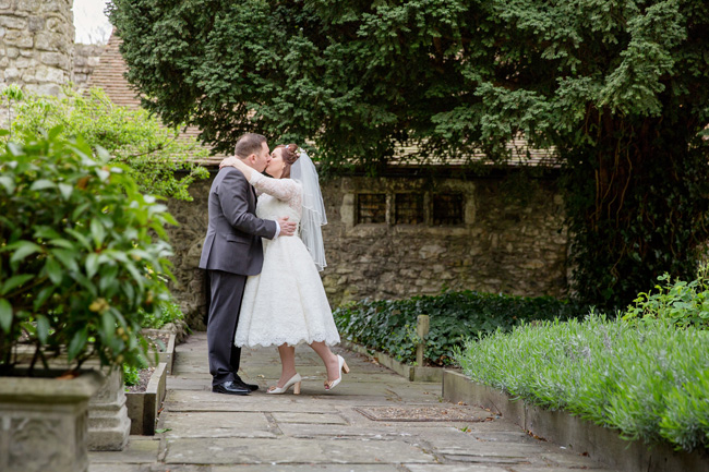 An intimate wedding at Kent's Archbishop's Palace, with Helen England Photography (13)