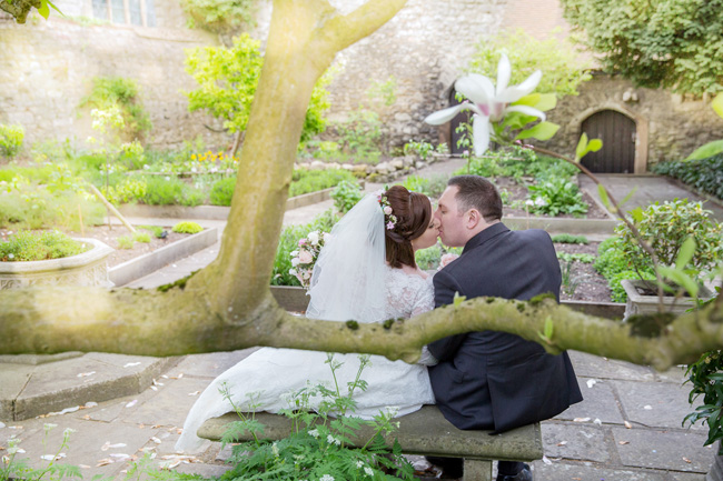 An intimate wedding at Kent's Archbishop's Palace, with Helen England Photography (16)