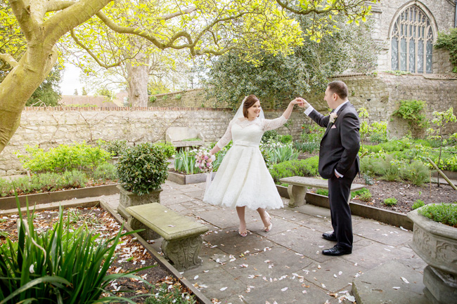 An intimate wedding at Kent's Archbishop's Palace, with Helen England Photography (19)