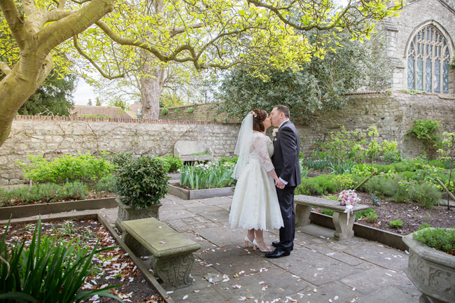 An intimate wedding at Kent's Archbishop's Palace, with Helen England Photography (21)