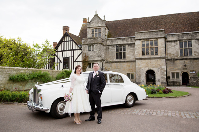 An intimate wedding at Kent's Archbishop's Palace, with Helen England Photography (22)