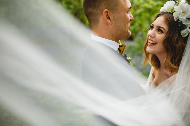 Woodland romance and beautiful bluebells for a Derbyshire wedding shoot with HBA Photography (5)