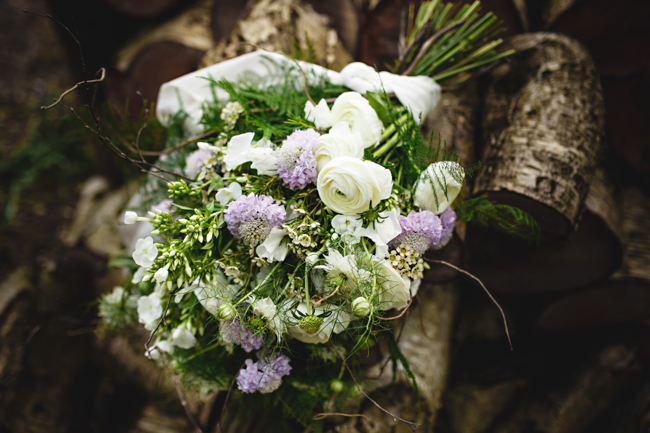 Woodland romance and beautiful bluebells for a Derbyshire wedding shoot with HBA Photography (12)