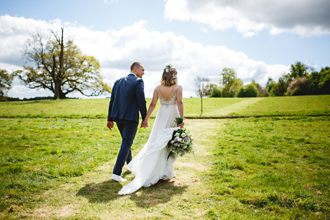 Woodland romance and beautiful bluebells for a Derbyshire wedding shoot with HBA Photography (13)