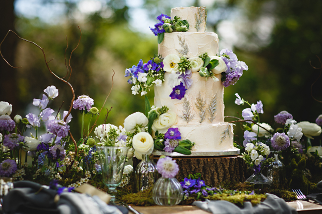 Woodland romance and beautiful bluebells for a Derbyshire wedding shoot with HBA Photography (23)