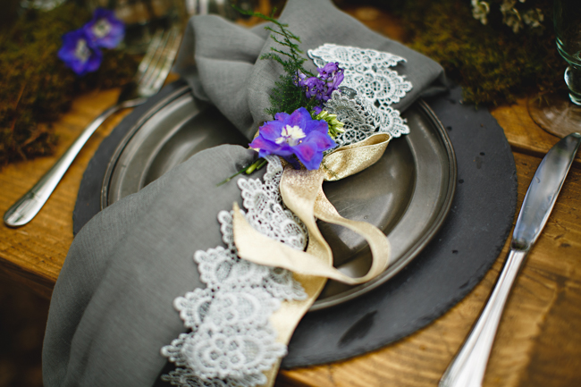 Woodland romance and beautiful bluebells for a Derbyshire wedding shoot with HBA Photography (28)