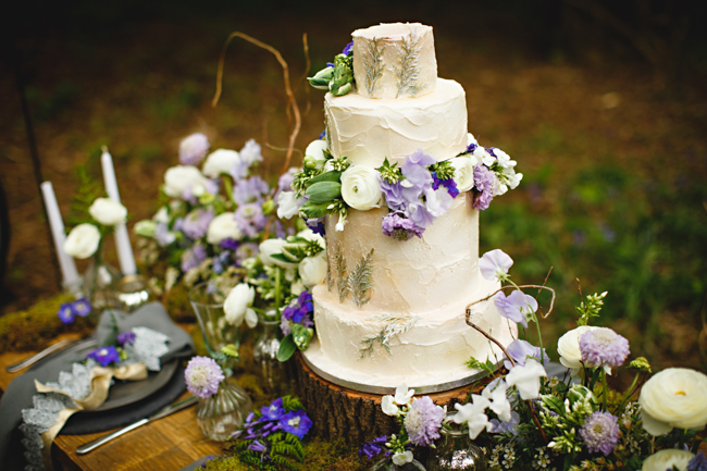 Woodland romance and beautiful bluebells for a Derbyshire wedding shoot with HBA Photography (31)