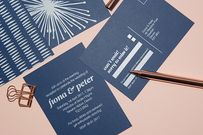 Mock Up Designs beautiful modern wedding stationery, credit Hannah Miles Photography (20)