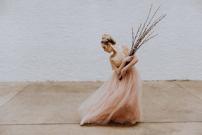 Modern ballet; bridal inspiration with a gorgeous twist. Image credit Oxi Photography (5)