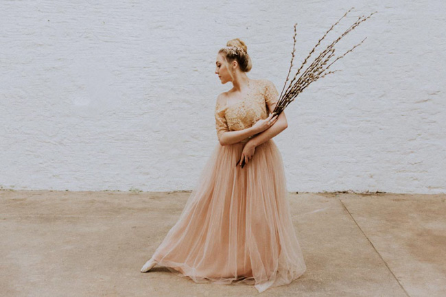 Modern ballet; bridal inspiration with a gorgeous twist. Image credit Oxi Photography (6)