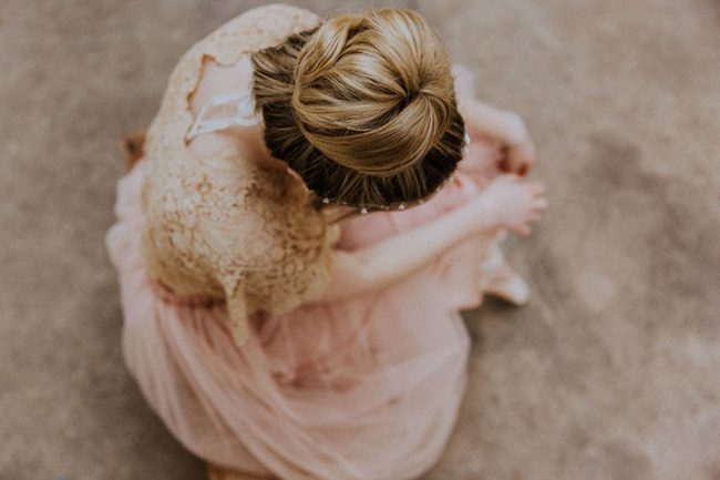 Modern ballet; bridal inspiration with a gorgeous twist. Image credit Oxi Photography (12)