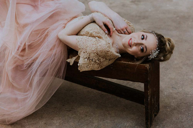 Modern ballet; bridal inspiration with a gorgeous twist. Image credit Oxi Photography (14)
