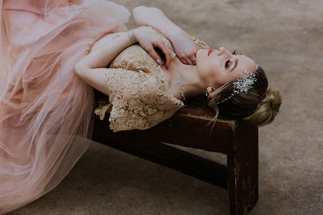 Modern ballet; bridal inspiration with a gorgeous twist. Image credit Oxi Photography (15)