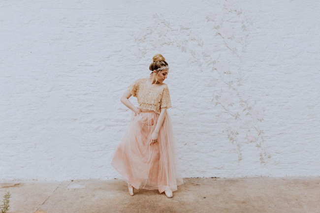 Modern ballet; bridal inspiration with a gorgeous twist. Image credit Oxi Photography (21)