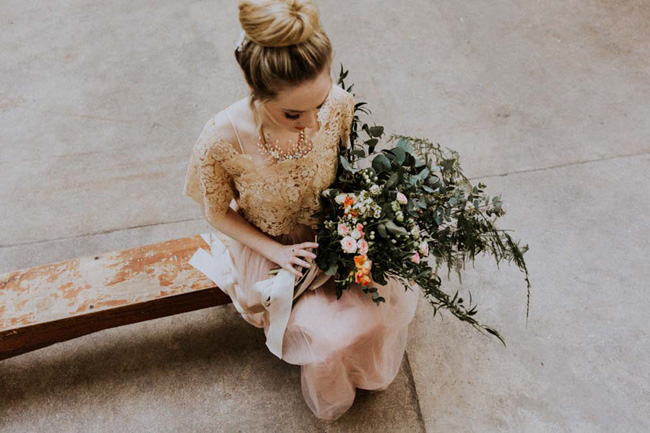 Modern ballet; bridal inspiration with a gorgeous twist. Image credit Oxi Photography (31)