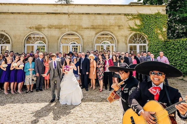warble entertainment agency on the English Wedding Blog (5)