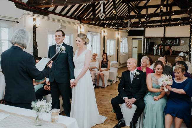 Romantic and simple styling for a traditional English wedding in Kent. Image by Michelle Cordner Photography (9)
