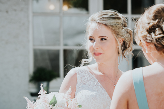 Romantic and simple styling for a traditional English wedding in Kent. Image by Michelle Cordner Photography (13)