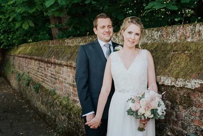 Romantic and simple styling for a traditional English wedding in Kent. Image by Michelle Cordner Photography (21)