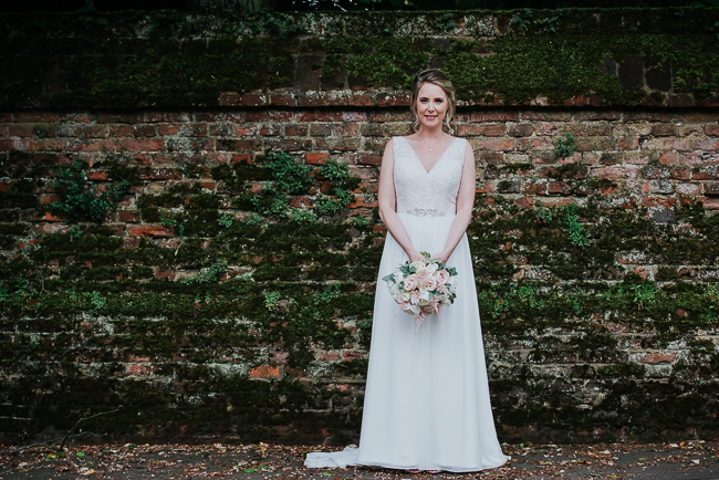 Romantic and simple styling for a traditional English wedding in Kent. Image by Michelle Cordner Photography (29)