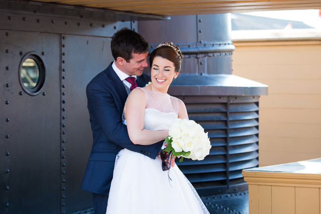 SS Great Britain wedding with Bristol photographer Martin Dabek (16)
