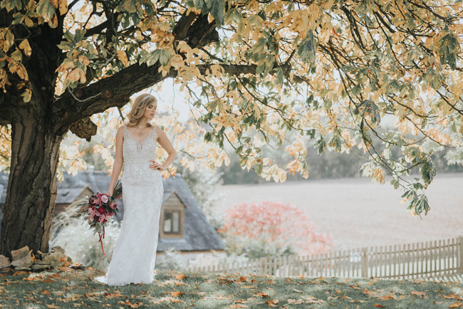 Bold florals, textures and accents from nature - autumn wedding styling ideas with Oobaloos Photography (32)