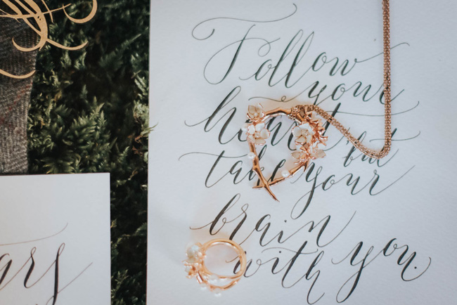 Bold florals, textures and accents from nature - autumn wedding styling ideas with Oobaloos Photography (26)