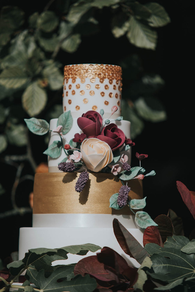 Bold florals, textures and accents from nature - autumn wedding styling ideas with Oobaloos Photography (21)