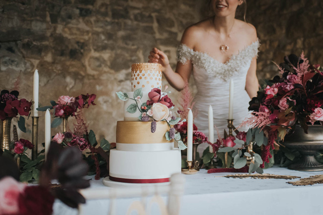 Bold florals, textures and accents from nature - autumn wedding styling ideas with Oobaloos Photography (15)