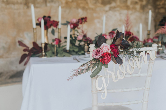 Bold florals, textures and accents from nature - autumn wedding styling ideas with Oobaloos Photography (13)
