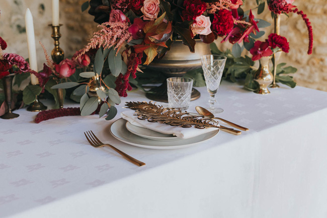 Bold florals, textures and accents from nature - autumn wedding styling ideas with Oobaloos Photography (9)
