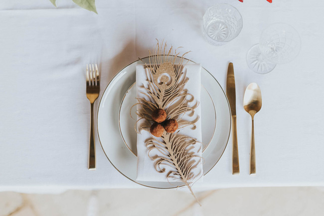 Bold florals, textures and accents from nature - autumn wedding styling ideas with Oobaloos Photography (7)