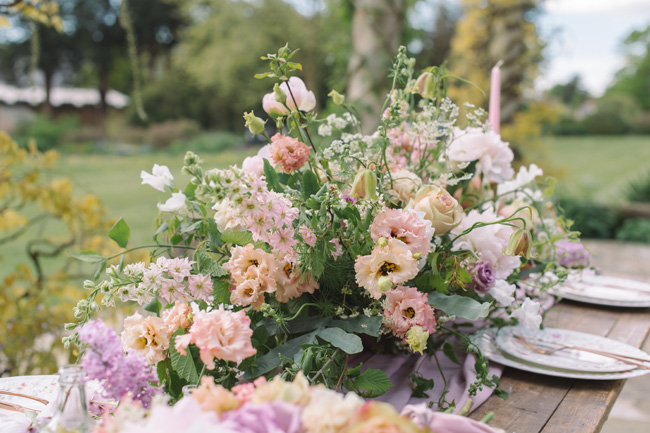 Wedding inspiration from West Dean Gardens in Sussex, with photography by Joanna Cleeve (9)