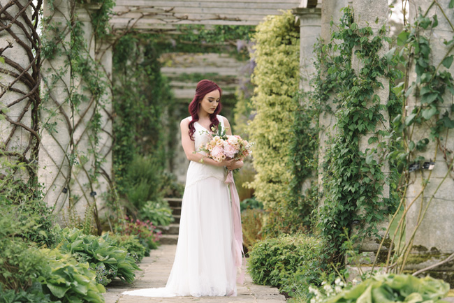Wedding inspiration from West Dean Gardens in Sussex, with photography by Joanna Cleeve (10)