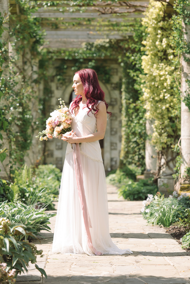 Wedding inspiration from West Dean Gardens in Sussex, with photography by Joanna Cleeve (15)