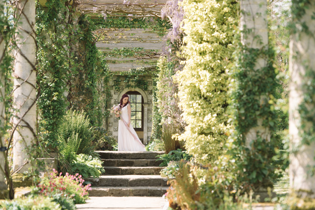 Wedding inspiration from West Dean Gardens in Sussex, with photography by Joanna Cleeve (17)