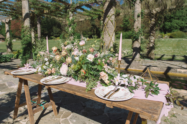 Wedding inspiration from West Dean Gardens in Sussex, with photography by Joanna Cleeve (2)