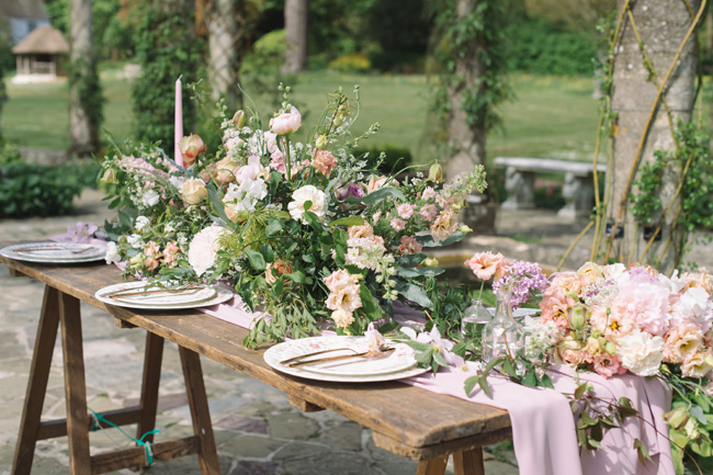 Wedding inspiration from West Dean Gardens in Sussex, with photography by Joanna Cleeve (7)