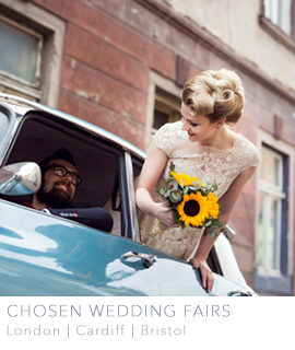 Chosen wedding fairs London Cardiff Bristol
